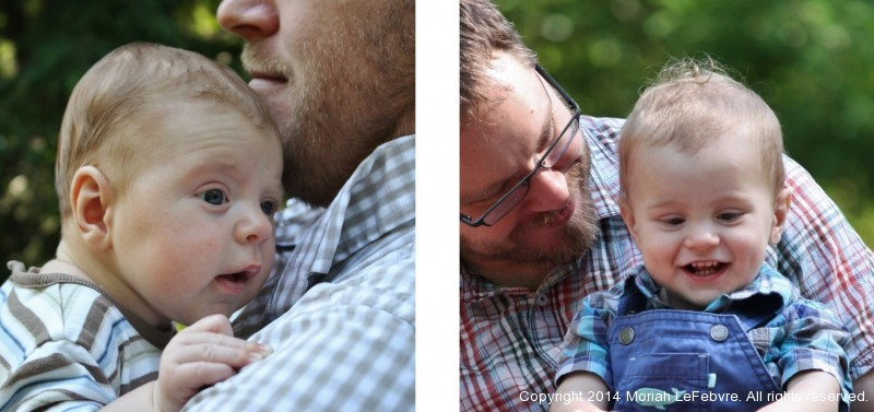 Father-Son Portraits